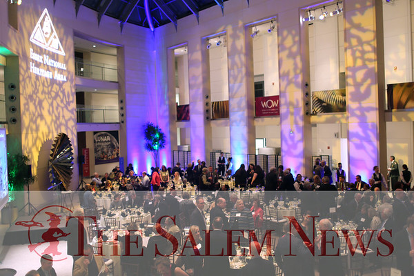 HADLEY GREEN/ Staff photo<br /> The Essex National Heritage Area 20th anniversary gala was held at the Peabody Essex Museum in Salem on Wednesday, April 5th, 2017