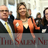 HADLEY GREEN/ Staff photo<br /> From left to right, Bob Eastman of Salem, Laura Fleming of Marblehead, and Sara Andrews of Melrose attend at the Salem Partnership Annual Dinner and Meeting held at the Hawthorne Hotel in Salem on Tuesday, March 28, 2017.