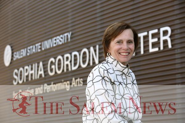 Salem State University President Patricia Meservey