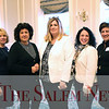 HADLEY GREEN/ Staff photo<br /> From left to right, Patricia Pace of Revere, Elizabeth O'Hara of Peabody, Heather Allen of Salem, Amanda Rock, and Cheryl Flynn of Lynn attend the Salem Partnership Annual Dinner and Meeting held at the Hawthorne Hotel in Salem on Tuesday, March 28, 2017.