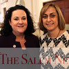 HADLEY GREEN/Staff photo<br /> From left, Sue Howley and Deanne Healey of Salem Five attend the Salem Partnership's annual meeting at the Hawthorne Hotel in Salem. <br /> <br /> 03/28/18