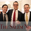 HADLEY GREEN/Staff photo<br /> From left, Matthew Coogan of the Salem Department of Planning and Community Development, Jason Consalvo of Salem Five, and Jeff McDonald of Salem Five attend the Salem Partnership's annual meeting at the Hawthorne Hotel in Salem. <br /> <br /> 03/28/18