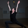 Jimmy Raye teaches a Pilates class at the Marblehead School of Ballet, where he studied and now works there as an instructor.