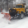 DAVID JOYNER/ CNHI News <br /> An Andover plow clears part of High Street.