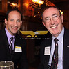 Image # 1082<br /> City Desk, North Andover:  At left, new member Sean Devan of Lawrence, Junto Real Estate, with Chamber Ambassador and Director Dennis McCarthy<br /> of Salem and Lazarus House, catch-up, at the Merrimack Valley Chamber of Commerce New Members Reception, Wednesday, at the Stevens Estate, North Andover.<br /> 3-23-11,  Photo by Frank J. Leone, Jr.