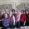 Lawrence General Board of Auxiliary. We work together in our little shop and other events. Left to right Carol Ann Morse, Nora Massiello, Marie Audy, Marlene Hylton, Susan Miller, Harriet Guarnera , Jan Wuehrmann, Roseanne DeNovellis, Nieves Rios-Moya,  Joyce Kernan.