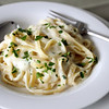 Photo  by Angie Beaulieu. Fettuccine Alfredo.