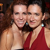 Amy Finegold,  and Adrienne Pappadopoulos,  both are from Andover,<br /> at the 10th Anniversary Reception of the Dalton & Finegold Law Firm, Thursday, at Glory Restarant, Andover.<br /> 12-10-09 Photo by Frank J. Leone, Jr