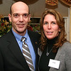 City Desk, Andover:  Board member Chuck Wolf and his spouce Liz, both of Andover,<br /> at the Boys and Girls Club of Lawrence Appreciation Reception, Thursday, in honor of past and present supporters <br /> of the annual golf tournament fundraiser, in its 30th anniversary year, at the Scarpa Home, Andover.<br /> 2-12-09                          Photo by Frank J. Leone, Jr.