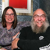 "City Desk, Andover:  Enjoying the evening are Mary Ellen and Blaine Austin of Atkinson, NH., Blaine is on the<br /> Phillips Academy staff,<br /> at the private screening of ""Delta Rising"", a blues documentary, co-written, directed and produced by Andover's<br /> Laura Bernieri, Wednesday, at Glory Restaurant, Andover.<br /> 12-17-08                            Photo by Frank J. Leone, Jr."