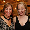 City Desk, Haverhill:  Co-Chairpersons for event, at left, Debbie Grasso and Janet Van Arsdale, both of North Andover.<br /> at the Merrimack Valley Habitat for Humanity Fundraiser/Auction, Saturday, at DiBurro's, Haverhill.<br /> 2-7-09                                  Photo by Frank J. Leone, Jr.