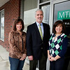 Laurie Mancinelli,  Paul MacDonald  and Cindy Traverso of MTM Insurance located at Chickering Plaza.<br /> Staff photo/Amy Sweeney