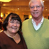 Marilyn Firzgerald, board member and Ernie Calverley,<br /> both of Andover, enjoyed the evening, at the Merrimack Valley YMCA'S Reach<br /> Out for Youth & Families Auction, Saturday, at the Wyndham/Andover Hotel.<br /> 3/13/10, Photo by Frank J. Leone, Jr.