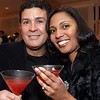 """Party People"" , Valentine's Reception at Stevens Estate, No. Andover, 2/1<br /> Celebrating their first wedding anniversary where they were married are Roberto and Kathleen Cruz of<br /> North Andover,<br /> at the Valentine's Reception, Friday, at Stevens Estate, North Andover.<br /> 2-12-10                                   Photo by Frank J. Leone, Jr."