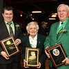 "Francis A. O'Connor of Andover was the recipient of the Cardinal Cushing Award,<br /> at the Ancient Order of Hibernians, Div. 8, St. Patrick's Dinner and ""Irish Man and Irish Woman of Year Awards, Saturday, at the Claddagh Pub, Lawrence.<br /> 3-6-10, Photo by Frank J. Leone, Jr."
