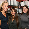 Photo by Frank J. Leone, Jr. Stylists in the new salon, from left, Petey Coletti O'Brien of Andover, Tia Boyle<br /> of Groveland and Shauna Zuniga of Salem, NH.,<br /> at the Grand Opening of Aphrodite's Salon and Spa, Friday, 354 North Main Street, Andover.<br /> 11/11/11