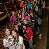 "Hundreds of of fans, mostly young girls, wait in line for their turn to meet the band, Boys Like Girls after the screening of the band's new DVD ""read between the lines.""Ê Fans who bought the DVD were also treated to a picture and autograph session after the showing. Martin Johnson of Andover is the lead singer for the hit band.<br /> Photo by Mike Dean"