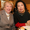 City Desk, Haverhill:Ê North Andover board members enjoyed the luncheon and fashion show,<br /> at left, Barbara Quinn and Theresa Chun,<br /> at the Women of Northern Essex Community College Membership Tea and Fashion Show to benefit<br /> scholarships, Wednesday, at theÊTech Center, Haverhill Campus.<br /> 11-5-08 Photo by Frank J. Leone, Jr.<br /> Ê
