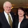 Albert Retelle and Joanne Marden, honorees, both are from Andover,<br /> at the Andover Historical Society Andover Heritage Awards, Thursday, at the Andover Country Club.<br /> 5-20-10,  Photo by Frank J. Leone, Jr.<br />  Andover Historical Society Andover Heritage Awards, 5/20, Andover Country Club, Andover