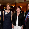 At left, honoree Albert Retelle of Andover, Elaine Clements of Billerica, executive director, honoree Joanne<br /> Marden and Donald Robb, president, both are from Andover,<br /> at the Andover Historical Society Andover Heritage Awards, Thursday, at the Andover Country Club.<br /> 5-20-10,   Kindly Credit:  Photo by Frank J. Leone, Jr.<br /> Andover Historical Society Andover Heritage Awards, 5/20, Andover Country Club
