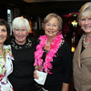 Enjoying the evening, at left, Christine Kalman of Cristina's Fashions, co-organizer, Carole O'Connor, Marilyn Santagati<br /> and Fran Melia, all are from Andover,<br /> at the Susan B. Komen Breast Cancer Foundation Fashion Show Benefit, Wednesday, at the Lanam Club, Andover.<br /> 5-26-10,  Photo by Frank J. Leone, Jr.<br /> Susan B. Komen Breast Cancer Foundation Fashion Show Benefit, 5/26, Lanam Club Andover