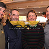 City Desk, Andover: Seen at event, from left, Belisario Rosas, Mark Gilbert, Muddy Waters, head of school and Tom Rauh, all of Andover, <br /> at the Pike School Golf Outing Auction Block Party Fundraiser, Monday, at Indian Ridge Country Club, Andover. 5-16-11, Photo by Frank J. Leone, Jr