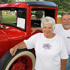 Louise and Peter Aziz of North Andover with their 1930 Ford Model A pick-up truck on display at the Happy Birthday America 4th of July Celebration on July 1, 2011 at North Andover Common. Photos by Frank J. Leone, Jr.
