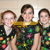 Samantha Levey, Kayla Sawyer & Leigh Melchin at the annual Variety Show at Franklin Elementary School in North Andover on March 3, 2011.