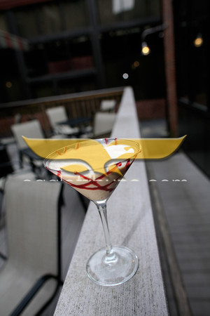 Gelato Martini at Jaime's Restaurant.<br /> Photo by Jan Seeger.