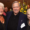 At left, Mary Wesson of Andover, Class of 1957, with Karl and Joyce Gladstone of North Andover, both honorary<br /> Class of 1991,