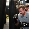 DAVID LE/Staff photo. Title Boxing Club in North Andover.