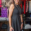 AMANDA SABGA/ Staff photo <br /> <br /> A dress from the collaborated clothing line is modeled by an employee of the  Dresscode boutique in downtown Andover.<br /> 9/18/15