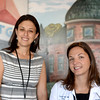 PAUL BILODEAU/Staff photo. Psychologist Laura Goldstein, left and Dr. Caitlin Neri, both Andover natives, at the Pain Clinic at the Boston Medical Center in Boston.