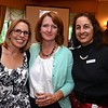 RYAN HUTTON/ Staff photo<br /> From left, Ann Mosby, Maureen Smith, and Ellen Bedrosian at the send off party for Miss MassachusettsTeen USA 2015 Sophie Baird at the Andover Country Club.