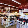 RYAN HUTTON/ Staff photo<br /> Row after row of wine greets visitors to Wine Connextion in North Andover.