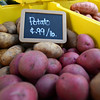 RYAN HUTTON/ Staff photo<br /> Multiple kinds of potatoes from Boston Hill Farm at the Andover Farmer's Market.