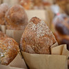 RYAN HUTTON/ Staff photo<br /> Fresh baked loaves from Swissbakers  at the Andover Farmer's Market.