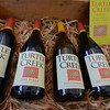 RYAN HUTTON/ Staff photo<br /> A collection of wines from Turtle Creek Winery at the Andover Farmer's Market.