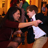 Photo/Reba Saldanha Mila Catanzano of Andover and son Will, 4, dance during the Mother/Son Valentine's Dance at Andover's Old Town Hall February 12, 2016