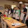 Photo/Reba Saldanha  Taste Buds Kitchen owner Laurel Holmes leads an adult cooking class on making fresh pasta in North Andover Saturday March 12, 2016