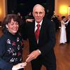 Brenda Afshin and Royal MacDonald, both of Andover, enjoy a waltz.<br /> Photo by Frank J. Leone, Jr.