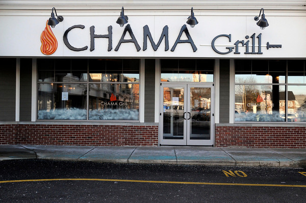 PAUL BILODEAU/Staff photo<br /> <br /> The front facade of the Charma Grill in North Andover on Main Street.