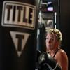 DAVID LE/Staff photo. Title Boxing Club in North Andover.