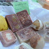 RYAN HUTTON/ Staff photo<br /> Sandle wood soaps from Sondarya spa at the Andover Farmer's Market.