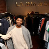 TIM JEAN/Staff photo  <br /> Luis Nunez, owner of La Mia Moda boutique in Andover. 3/15/16