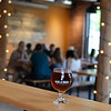 RYAN HUTTON/ Staff photo<br /> Oak & Iron Brewing's Red Spring Ale, a 6.1% abv malt-forward red ale with initial sweetness and a roasted dryness in the finish.