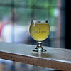 RYAN HUTTON/ Staff photo<br /> Oak & Iron Brewing's Dune Shack, a 4.7% abv slightly tart and citrus-y Belgian witbier.
