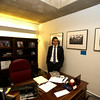 Daniel Arrigg Koh stands in his office at Boston City Hall.<br /> Photo by Ryan Hutton