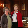 Photo/Reba Saldanha  Gail Souza, left, and Marion Dinsmore, both of Windham, at the retirement celebration of castle manager Sister Josette Parisi at Searles Castle in Windham, NH Sunday November 8, 2015.