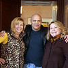 Photo/Reba Saldanha  (from left) Cindy Violi-Vytal of Londonderry, brother Christopher Violi, of Windham, and sister Jill Violi of Londonderry at the retirement celebration of castle manager Sister Josette Parisi at Searles Castle in Windham, NH Sunday November 8, 2015.